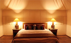 Private luxury tented camp