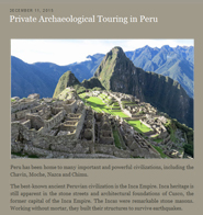 private Peru tours