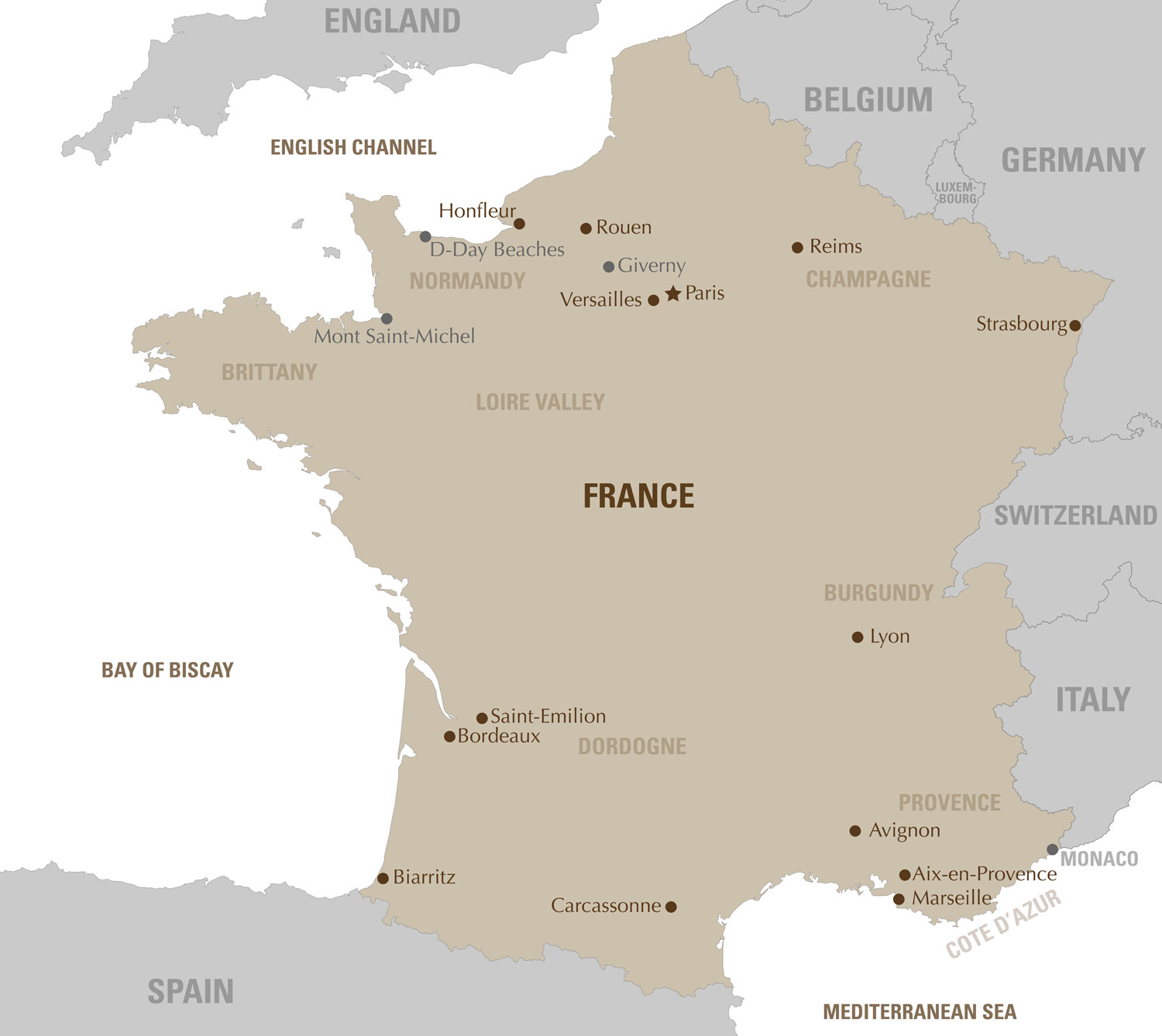 Luxury travel France Artisans of Leisure Luxury France tours