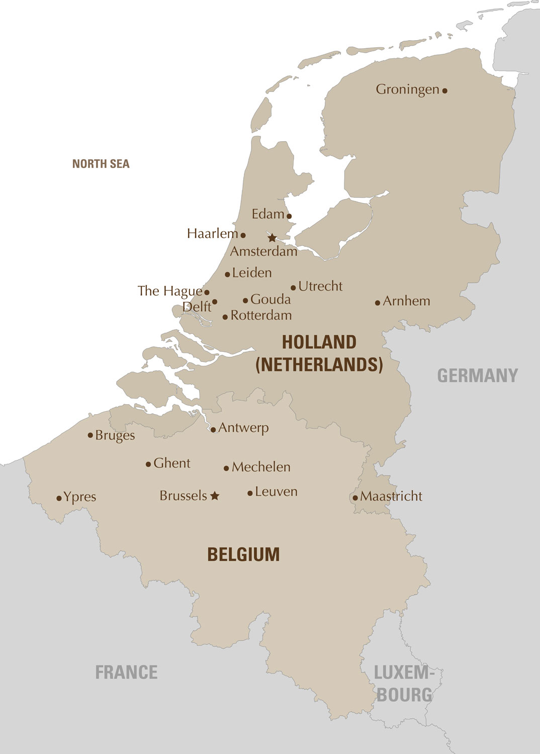 Edam Netherlands Map%0A Holland  u     Belgium Map
