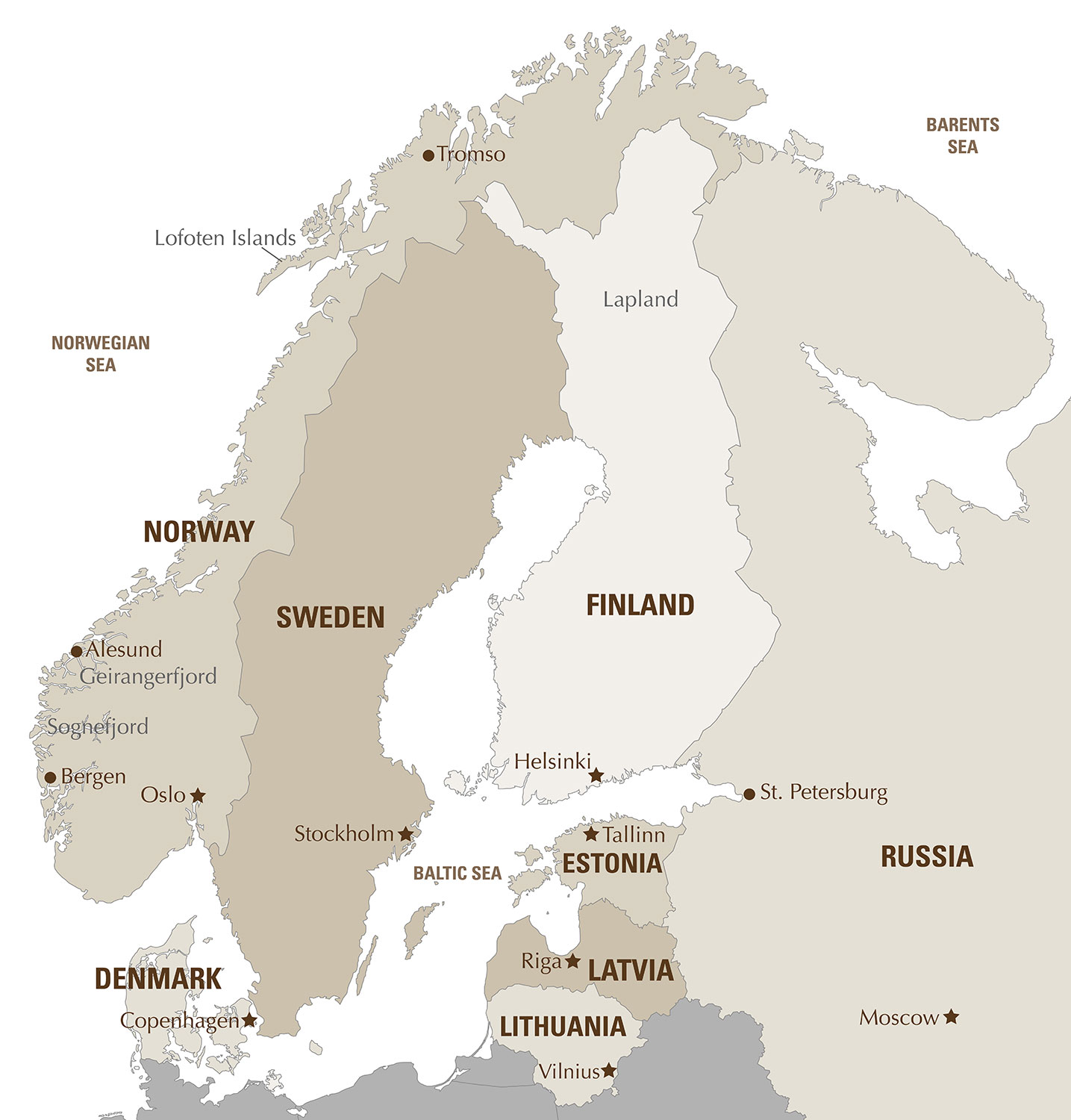 Private luxury Scandinavia tours - Artisans of Leisure - Luxury ...