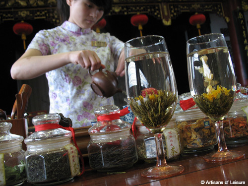 tea experiences in China