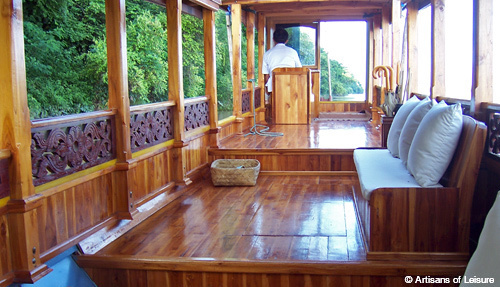 private Mekong cruises Artisans of Leisure
