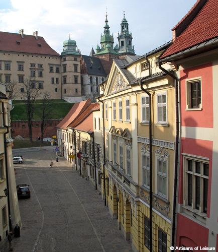 Kanonicza Street, Krakow