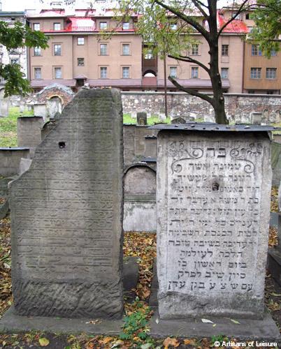 Poland Krakow Kazimierz Remu Cemetery