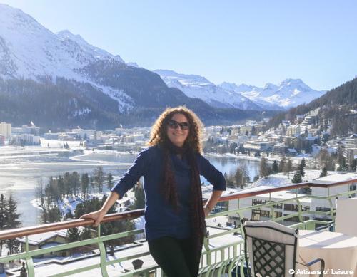 Sonja in St. Moritz