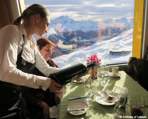 ski lunch
