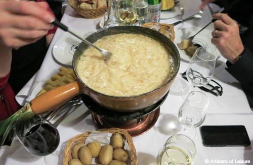 fondue in Zurich