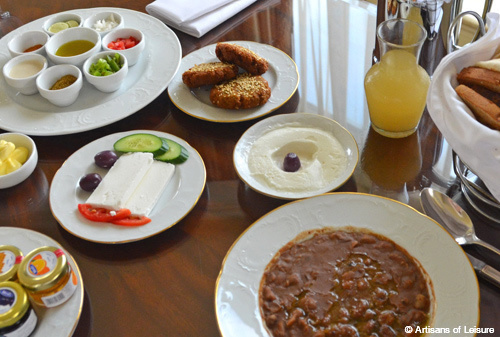 Breakfast in Egypt