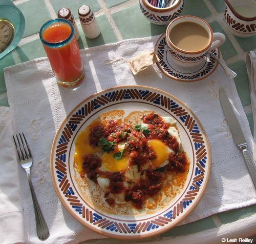 Mexico huevos rancheros