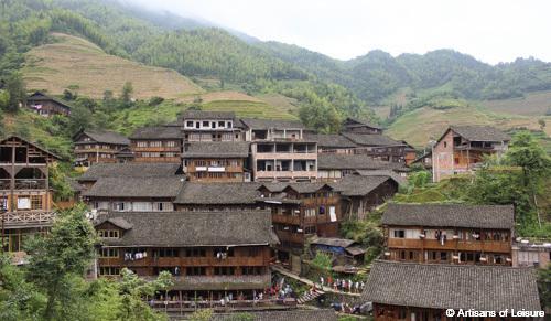 Longsheng villages