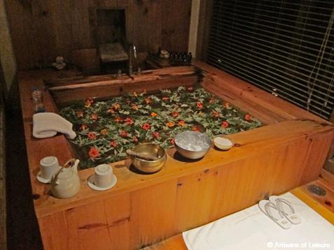 Bhutan bath