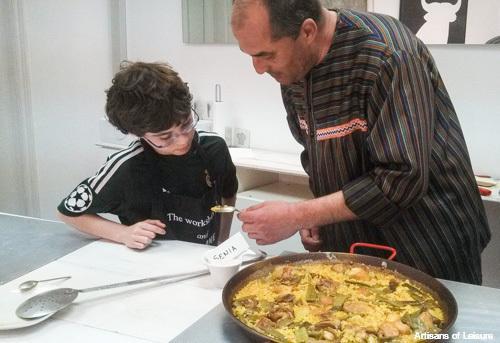 cooking class Valencia