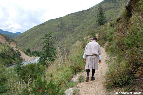 Bhutan walking tours