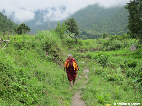 short hike Bhutan