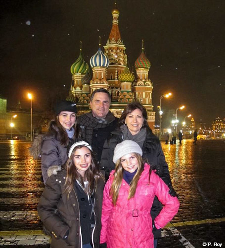 Family travel Russia