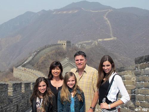 Family travel China