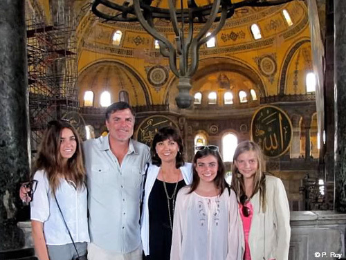 Family travel Turkey