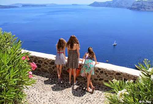 family travel Greece