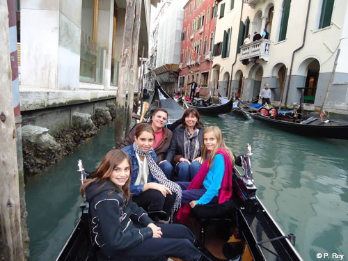 Family travel Italy