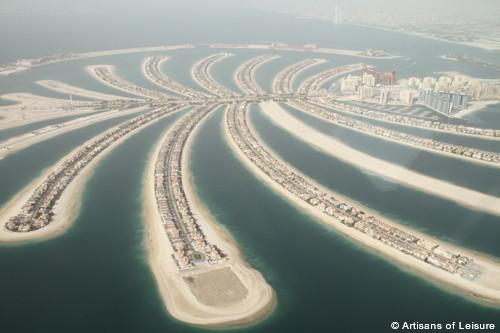 Dubai scenic flight view