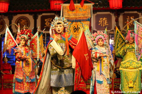 performing arts tours China