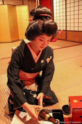 Geisha dinner