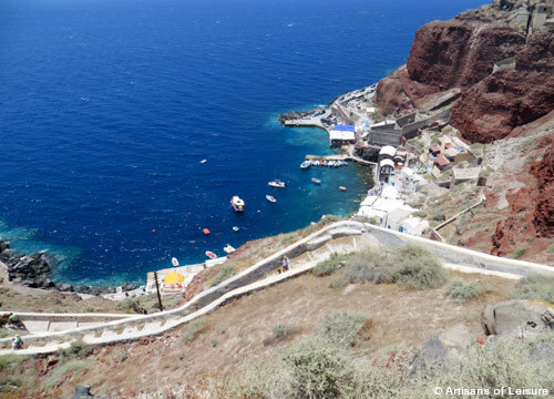 Hiking tours Santorini