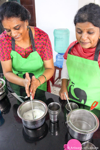 South India cooking class