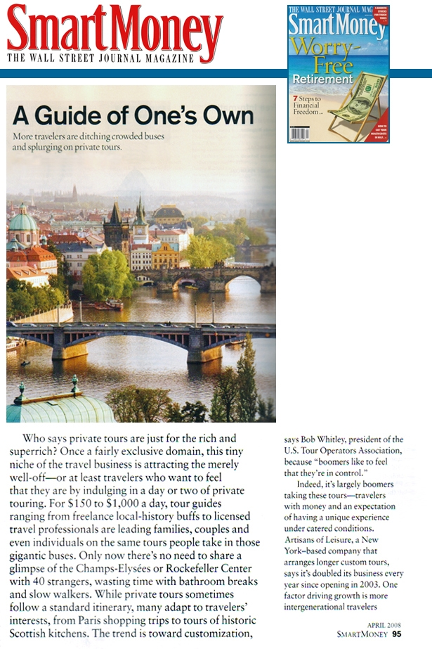 Smart Money 2008 A Guide of Ones Own article