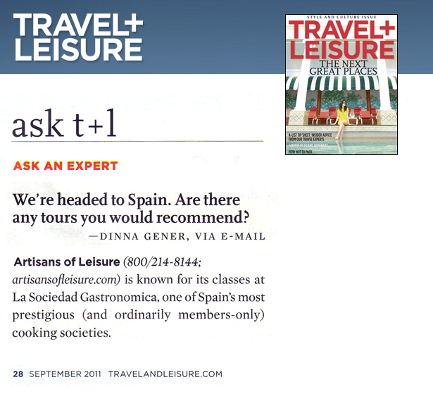 Travel and Leisure 2011