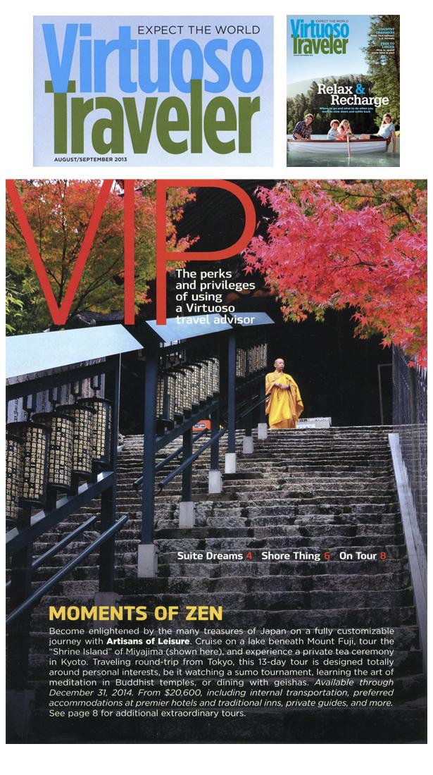 Virtuoso-Traveler Aug-Sep-2013 Japan