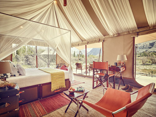 luxury tented camps India