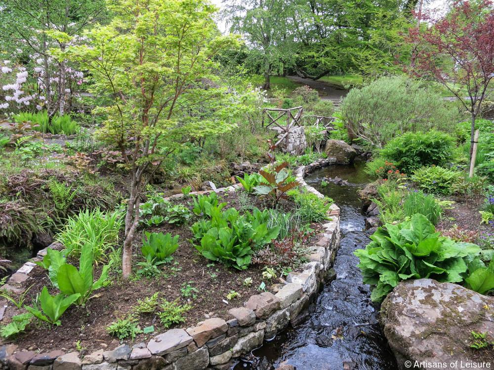 Isle of Skye, Dunvegan Castle, gardens