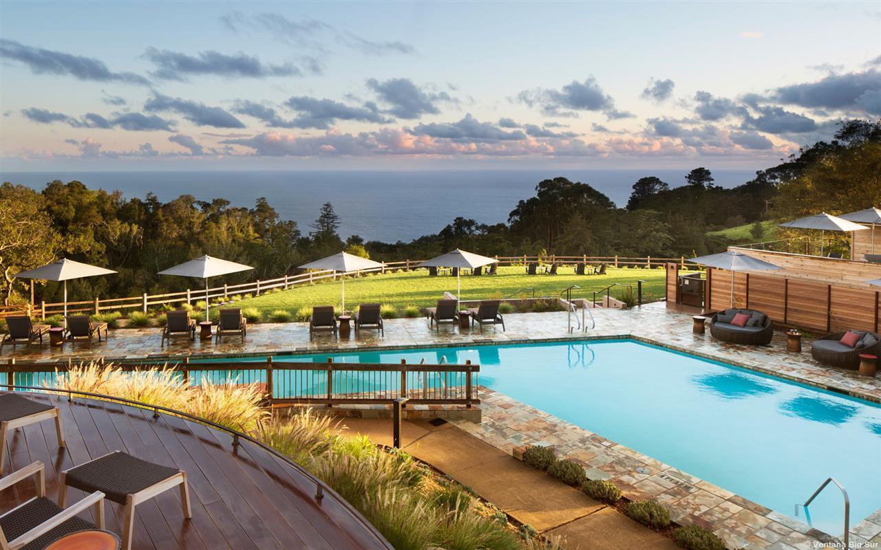 luxury Big Sur resort