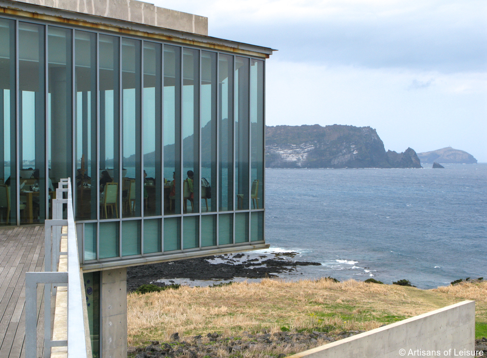 private South Korea architecture tours Jeju Island