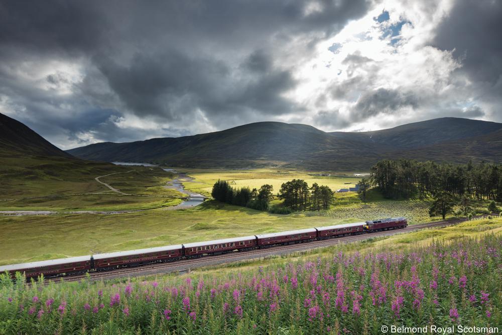 private Scotland tours Royal Scotsman train