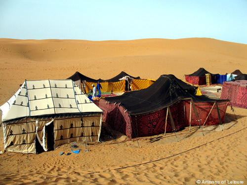 211-Moroccan-Sahara-tents.jpg & A night in the Moroccan desert | Artisans of Leisure | Luxury ...