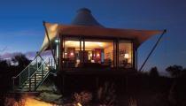 luxury tented camp, Australia