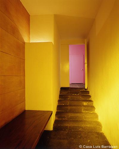 497 mexico city_barragan_door_courtesy casa luis barraganjpg - Modern Architecture Mexico