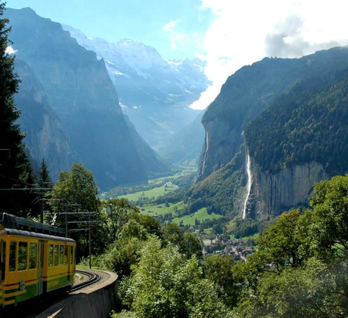 Places To Visit In Switzerland Blog: Touring The Berner Oberland In Switzerland: A Family