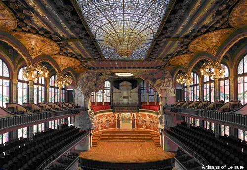 Sant Pau Recinte Modernista – Barcelona, Spain - Atlas Obscura